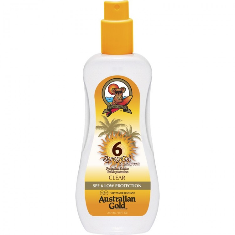 AUSTRALIAN GOLD SPRAY GEL  SPF 6 237 ML