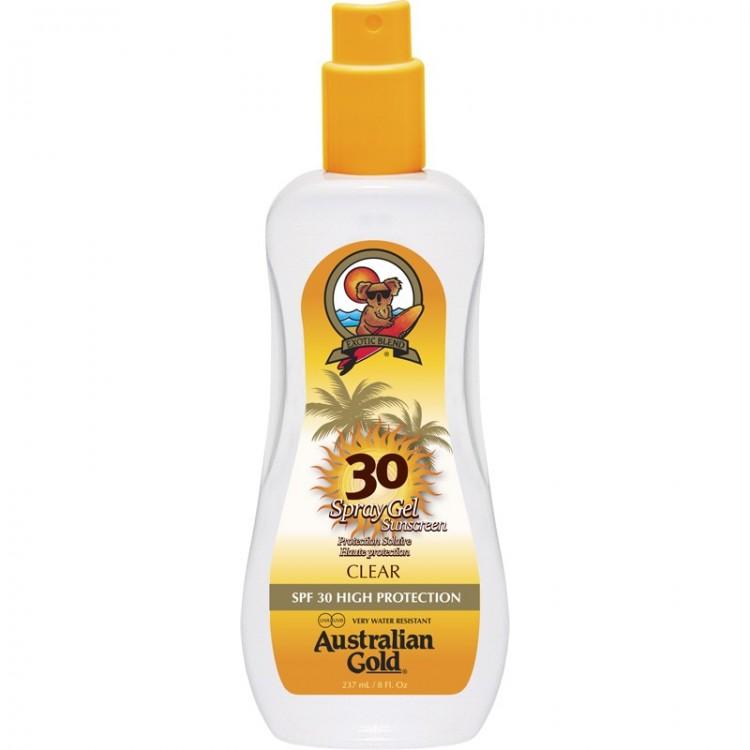 AUSTRALIAN GOLD SPRAY GEL SPF 30 237 ML
