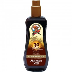 AUSTRALIAN GOLD SPRAY GEL WITH BRONZER SPF 30 237 ML