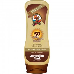 AUSTRALIAN GOLD LOTION WITH BRONZER SPF 50 237 ML