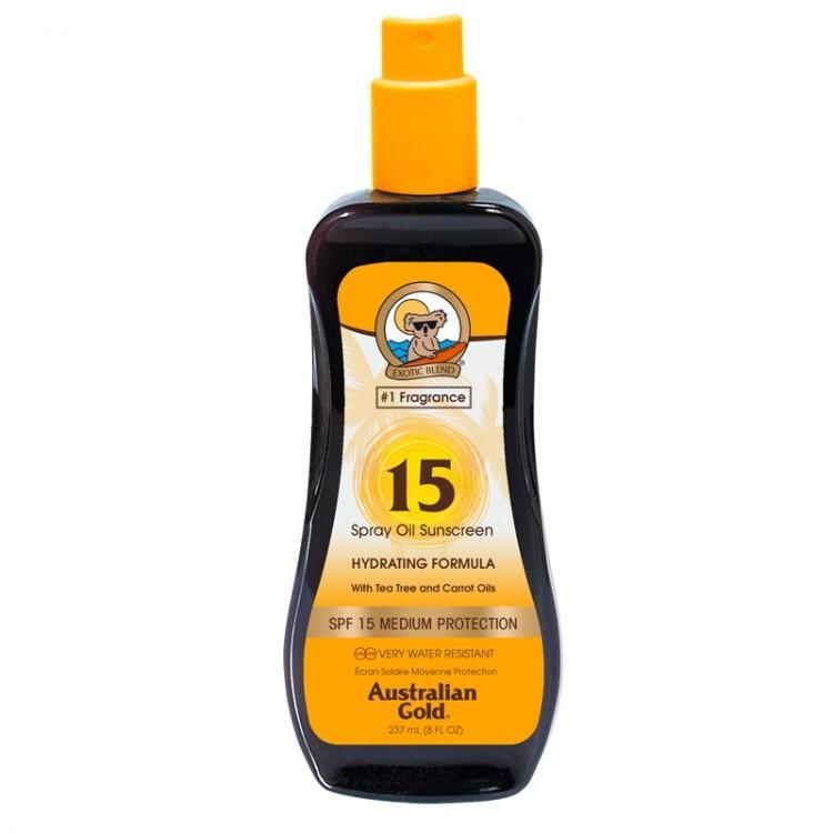 AUSTRALIAN GOLD OIL SPRAY SPF 15 237 ML