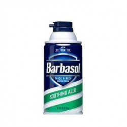 BARBASOL SCHIUMA DA BARBA SHOOTING ALOE 283 GR