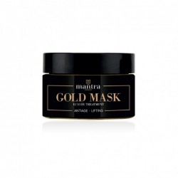 MANTRA COSMETICS GOLD MASK LUXURY TREATMENT ANTI AGE LIFTING 50 ML