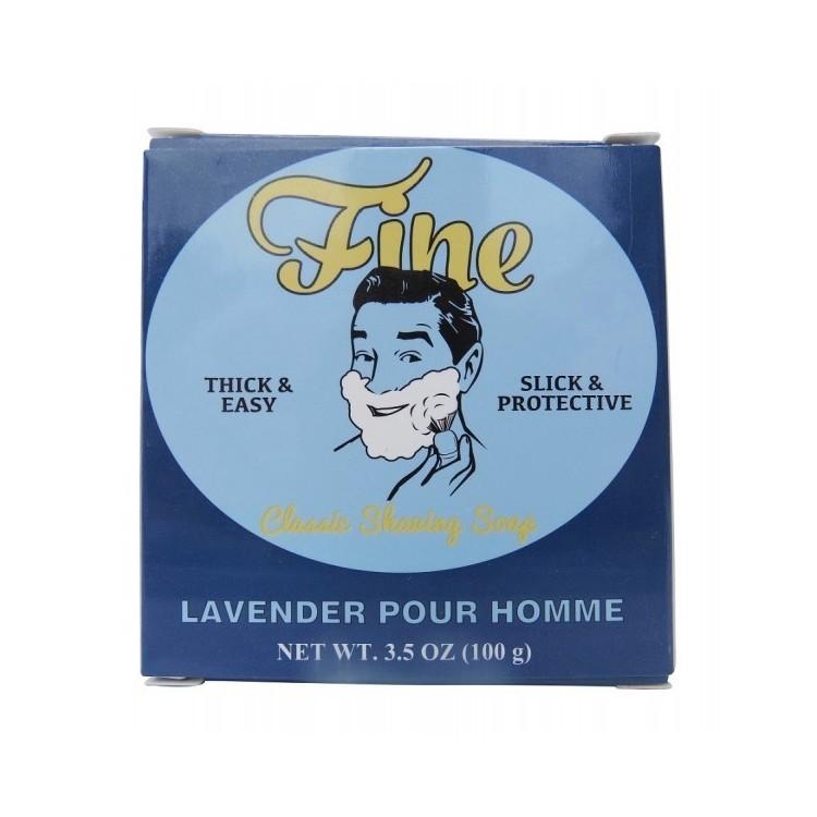 FINE SHAVING SOAP LAVENDER POUR HOMME 100 GR