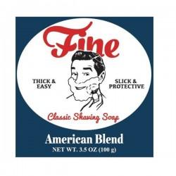 FINE AMERICAN BLEND CLASSIC SHAVING SOAP 100 GR