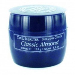 CYRIL SALTER SHAVING CREAM CLASSIC ALMOND 165 GR