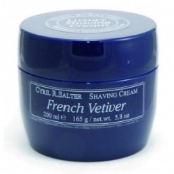 CYRIL SALTER SHAVING CREAM FRENCH VETIVER 165 GR