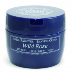 CYRIL SALTER SHAVING CREAM WILD ROSE 165 GR