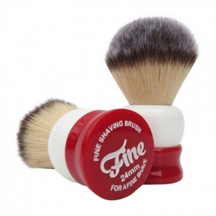 FINE ACCOUTREMENTS SHAVE BRUSH ANGEL HAIR STOUT