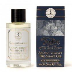 TAYLOR OF OLD BOND STREET AROMATHERAPY PRE-SHAVE OIL 30 ML