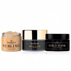 MANTRA COSMETICS PACCHETTO SUBLIME + MIRACLE + GOLD MASK