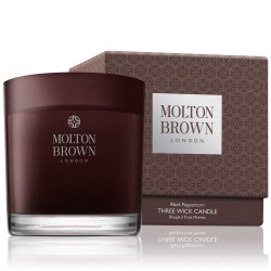 MOLTON BROWN BLACK PEPPERCORN CANDELA 3 STOPPINI