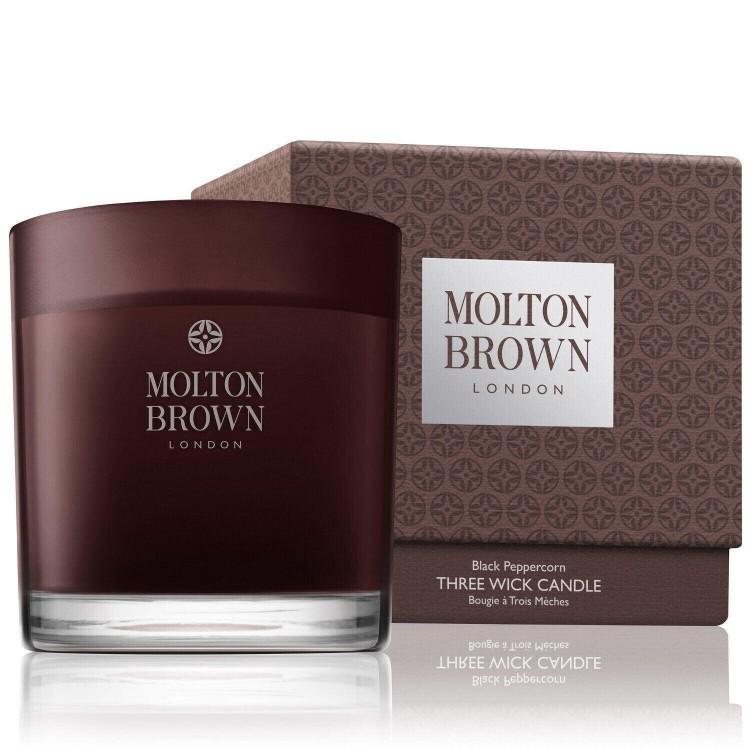 MOLTON BROWN BLACK PEPPERCORN CANDELA 3 STOPPINI