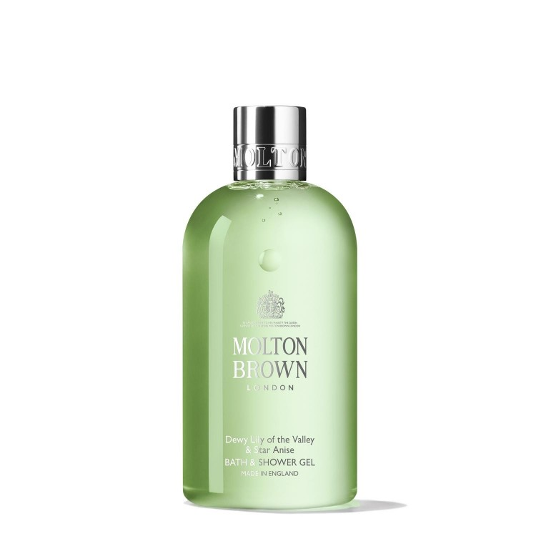 MOLTON BROWN DEWY LILY OF THE VALLEY & STAR ANICE BATH & SHOWER GEL 300 ML