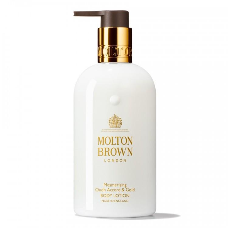 MOLTON BROWN MESMERISING OUDH ACCORD & GOLD BODY LOTION 300 ML