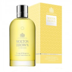 MOLTON BROWN ORANGE & BERGAMOT RADIANT BATHING OIL 200 ML