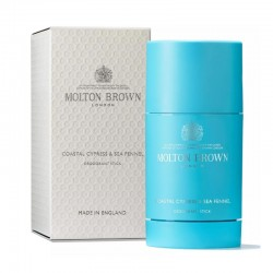 MOLTON BROWN COASTAL CYPRESS & SEA FENNEL DEODORANT STICK 75 GR